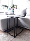 bijzettafel, koffietafel Dutch-Harmpie | 100% Made in NL | Industrial look | Zwart Metaal _