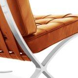Barcelona Chair Splitleder Cognac_