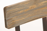 Industrial design stoel Qeeuns bronze, _
