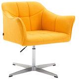 Loungestoel Jaen Stof Geel_