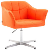 Loungestoel Jaen Stof Oranje_