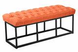 Bank Uman B stof Oranje,120 cm_