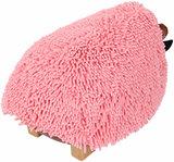 Kinderpoef Aringi kunstleer pink, _
