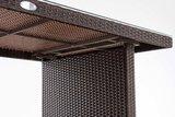 Poly Roodan tafel Ovignan Bruin-meliert,180 cm_