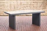 Poly Roodan tafel Ovignan Grijs,180 cm_