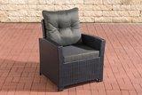 PolyRoodan fauteuil Fosoli Zwart,anthrazit_
