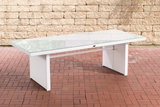 Poly Roodan tafel Ovignan Wit,220 cm_