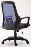 Bureaustoel Clivir Zwart/Blauw_