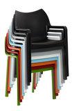 2er SET stapelstoel Davi Groen_