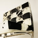 Barcelona Chair Xclusive Cowhide Zwart/Wit_