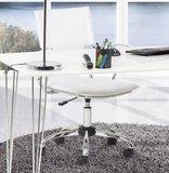 Bureaustoel Modesto Wit (Design - Trendy - Modern)_