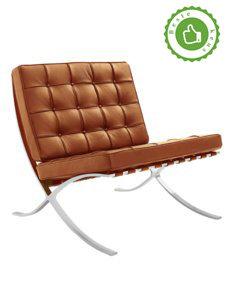 Barcelona Chair Cognac Variatie 2