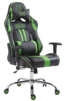 Gaming Stoel Rico V2 Groen zonder Voetsteun