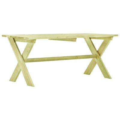 Tuintafel 170x73x70 cm geïmpregneerd grenenhout