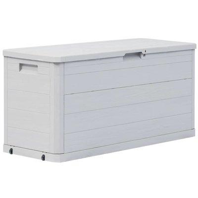 Tuinbox 280 L lichtgrijs