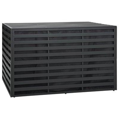 Tuinbox 150x100x100 cm aluminum antraciet