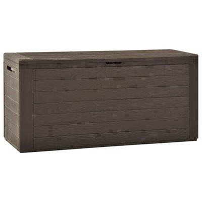 Tuinbox 116x44x55 cm bruin