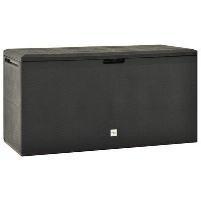 Tuinbox 114x47x60 cm antraciet