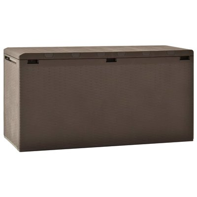 Tuinbox 114x47x60 cm bruin