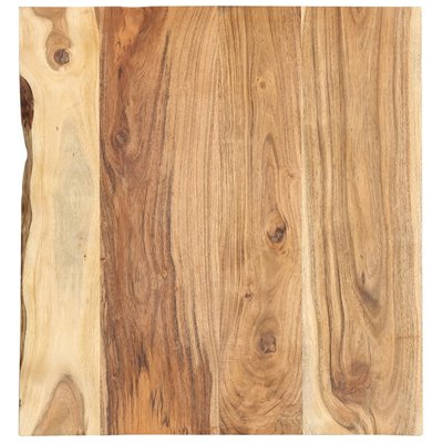 Wastafelblad 60x55x2,5 cm massief acaciahout