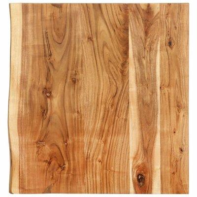Wastafelblad 60x55x3,8 cm massief acaciahout