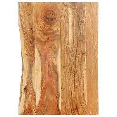 Wastafelblad 80x55x2,5 cm massief acaciahout