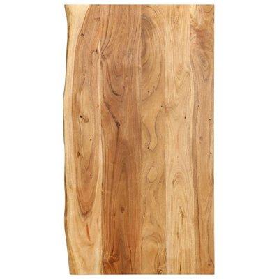 Wastafelblad 100x55x2,5 cm massief acaciahout