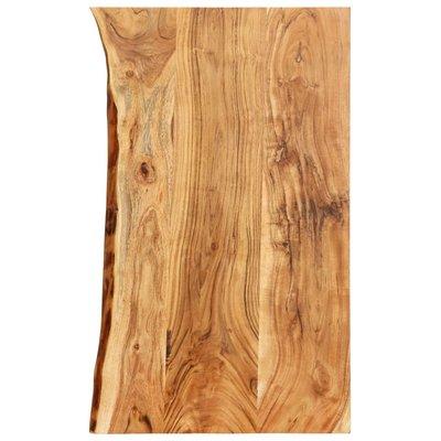 Wastafelblad 100x55x3,8 cm massief acaciahout