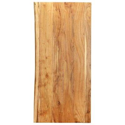 Wastafelblad 120x55x2,5 cm massief acaciahout