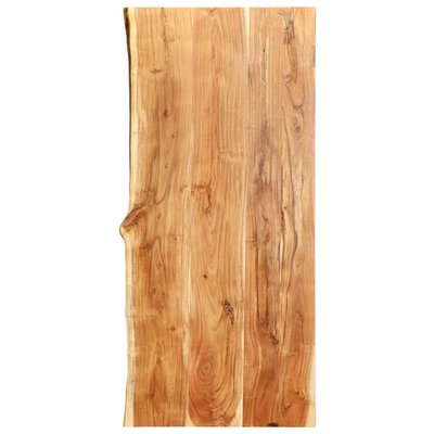 Wastafelblad 120x55x3,8 cm massief acaciahout
