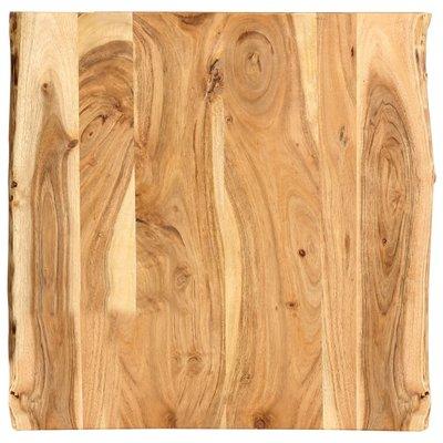 Tafelblad 60x60x2,5 cm massief acaciahout