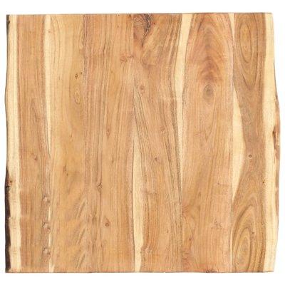 Tafelblad 60x60x3,8 cm massief acaciahout