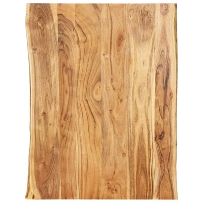 Tafelblad 80x60x2,5 cm massief acaciahout