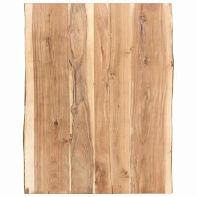 Tafelblad 80x60x3,8 cm massief acaciahout