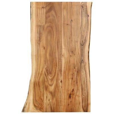 Tafelblad 100x60x2,5 cm massief acaciahout