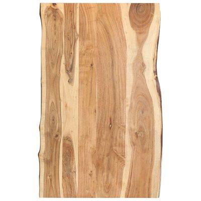 Tafelblad 100x60x3,8 cm massief acaciahout