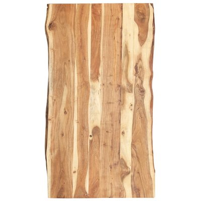 Tafelblad 120x60x3,8 cm massief acaciahout