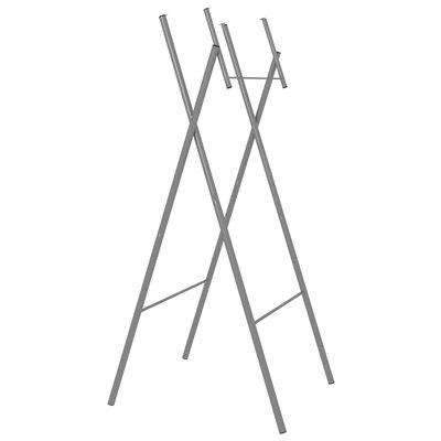 Tafelpoten inklapbaar 45x55x112 cm gegalvaniseerd staal zilver