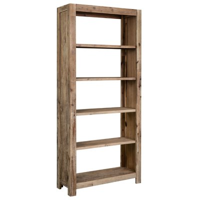 Boekenkast 80x30x180 cm massief acaciahout