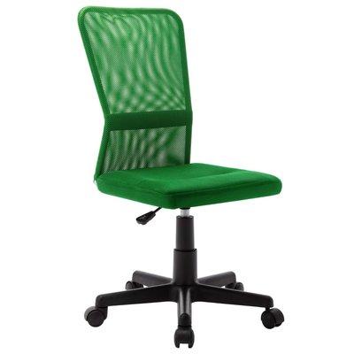 Kantoorstoel 44x52x100 cm mesh stof groen
