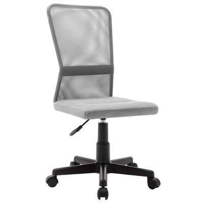 Kantoorstoel 44x52x100 cm mesh stof grijs