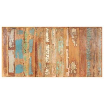Tafelblad 16 mm 180x90 cm massief gerecycled hout