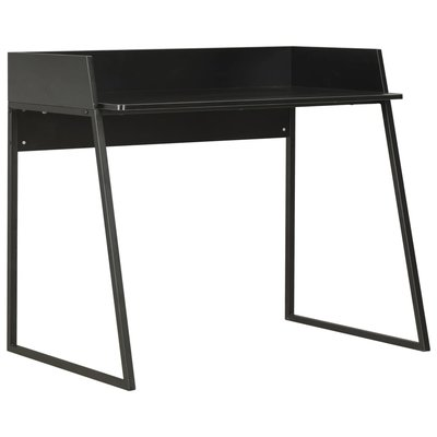 Bureau 90x60x88 cm zwart