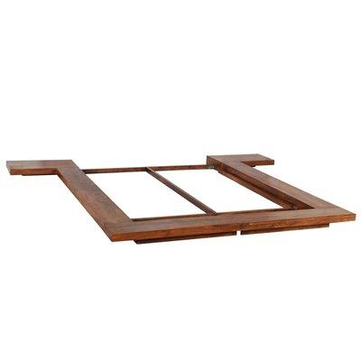 Bedframe Japanse stijl futon massief hout 140x200 cm