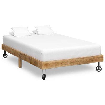 Bedframe massief mangohout 120x200 cm