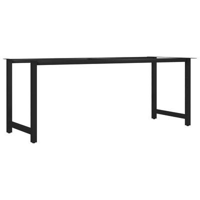Eettafelpoot H-frame 180x80x72 cm