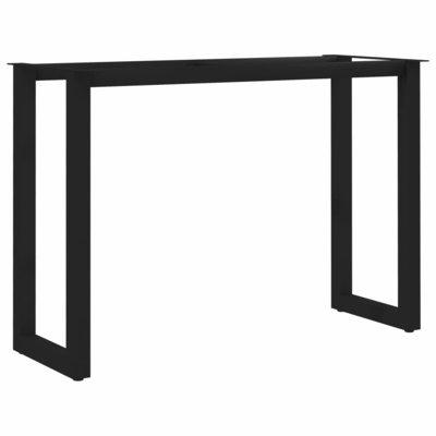Eettafelpoot O-frame 100x40x72 cm