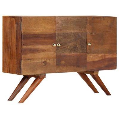 Dressoir 110x30x75 cm massief gerecycled hout bruin