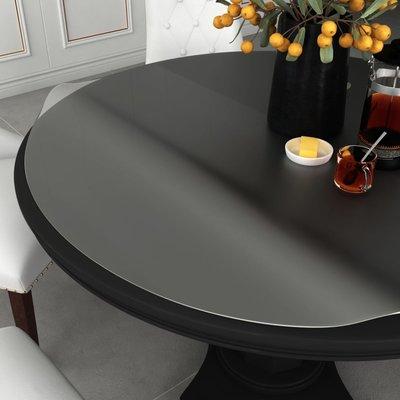 Tafelbeschermer Ø 120 cm 2 mm PVC mat