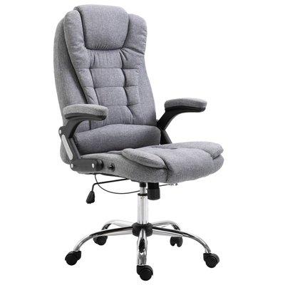 Kantoorstoel polyester grijs